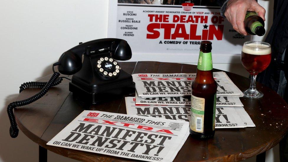 """Юристы минкульта попросили не выпускать в России """"Смерть Сталина"""""""