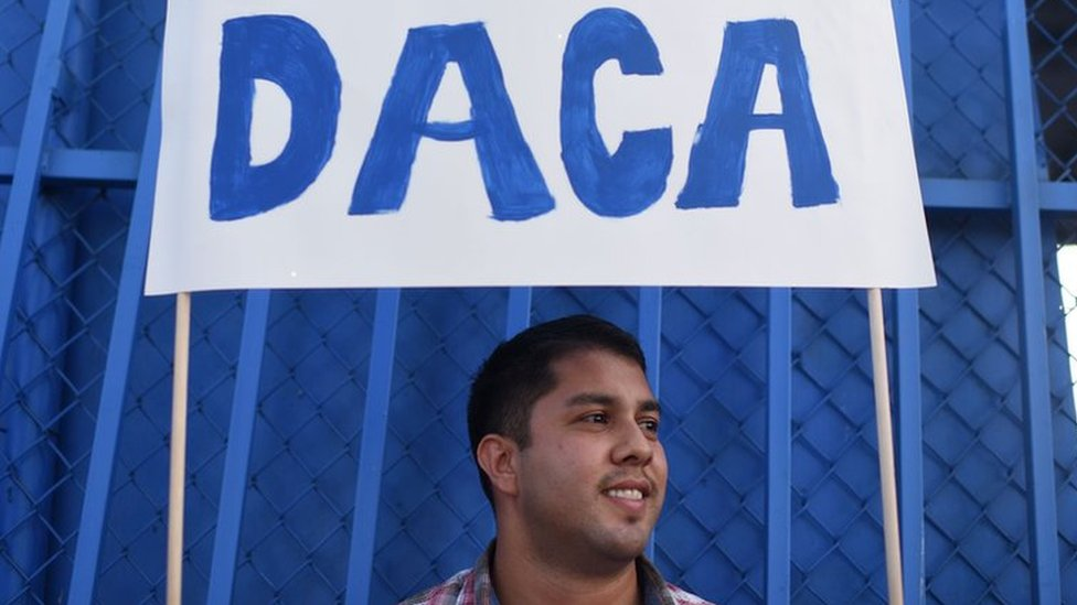 Trump blasts courts after Daca Dreamers ruling