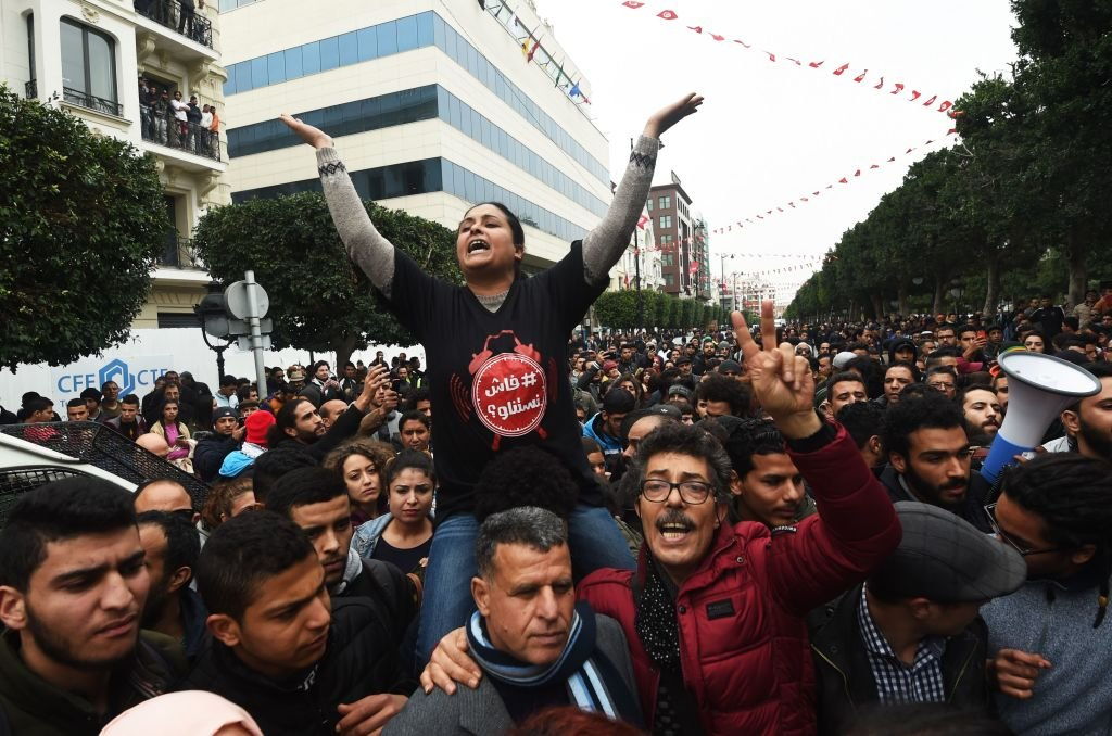 demo tunisia