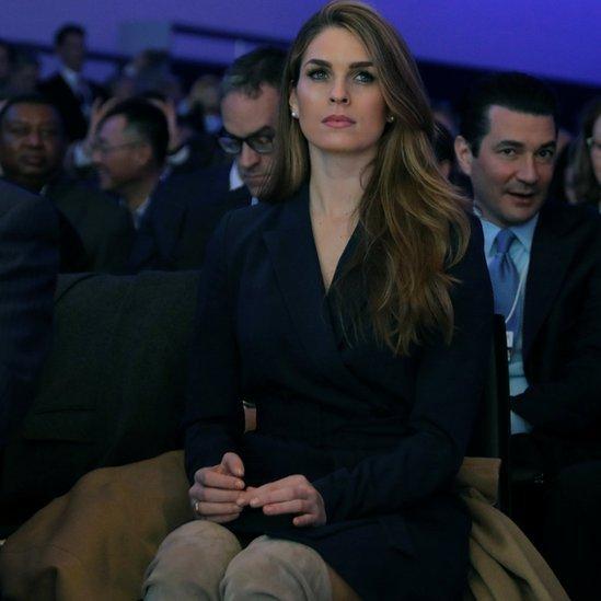 مديرة الاتصالات في البيت الأبيض هوب هيكس