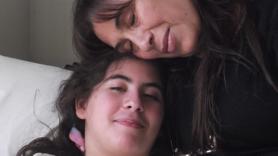 La madre y Paula