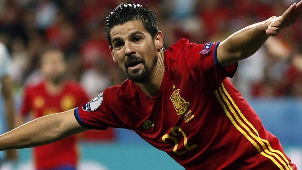 Man City sign Spain forward Nolito for £13.8m