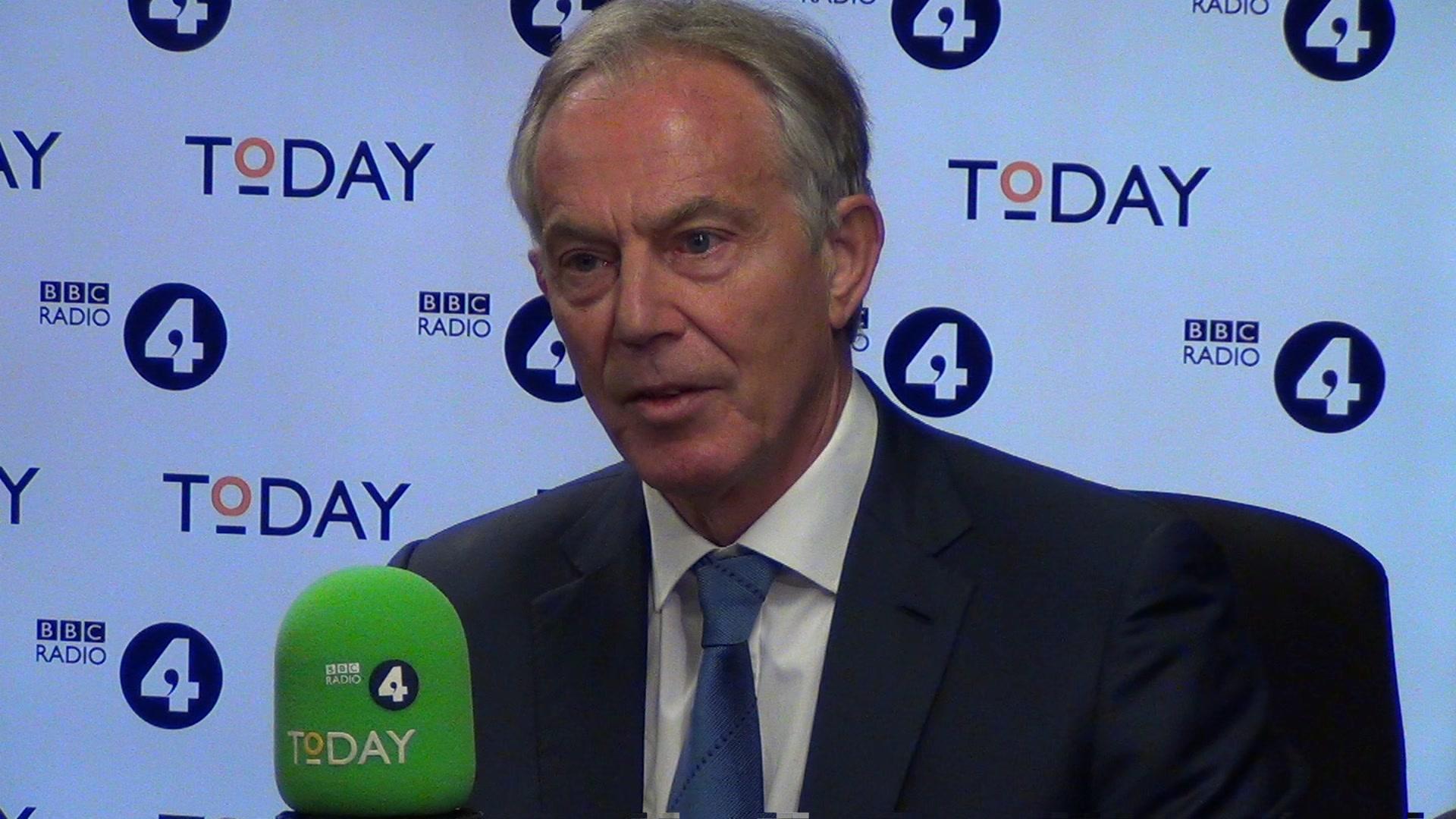 New Brexit referendum logical, says Tony Blair