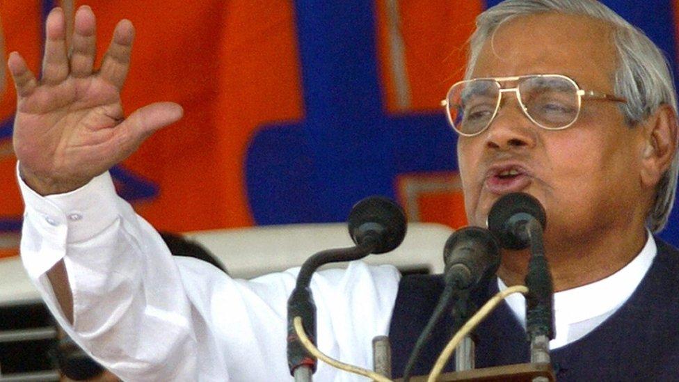 Atal Behari Vajpayee: Former India PM dies at 93