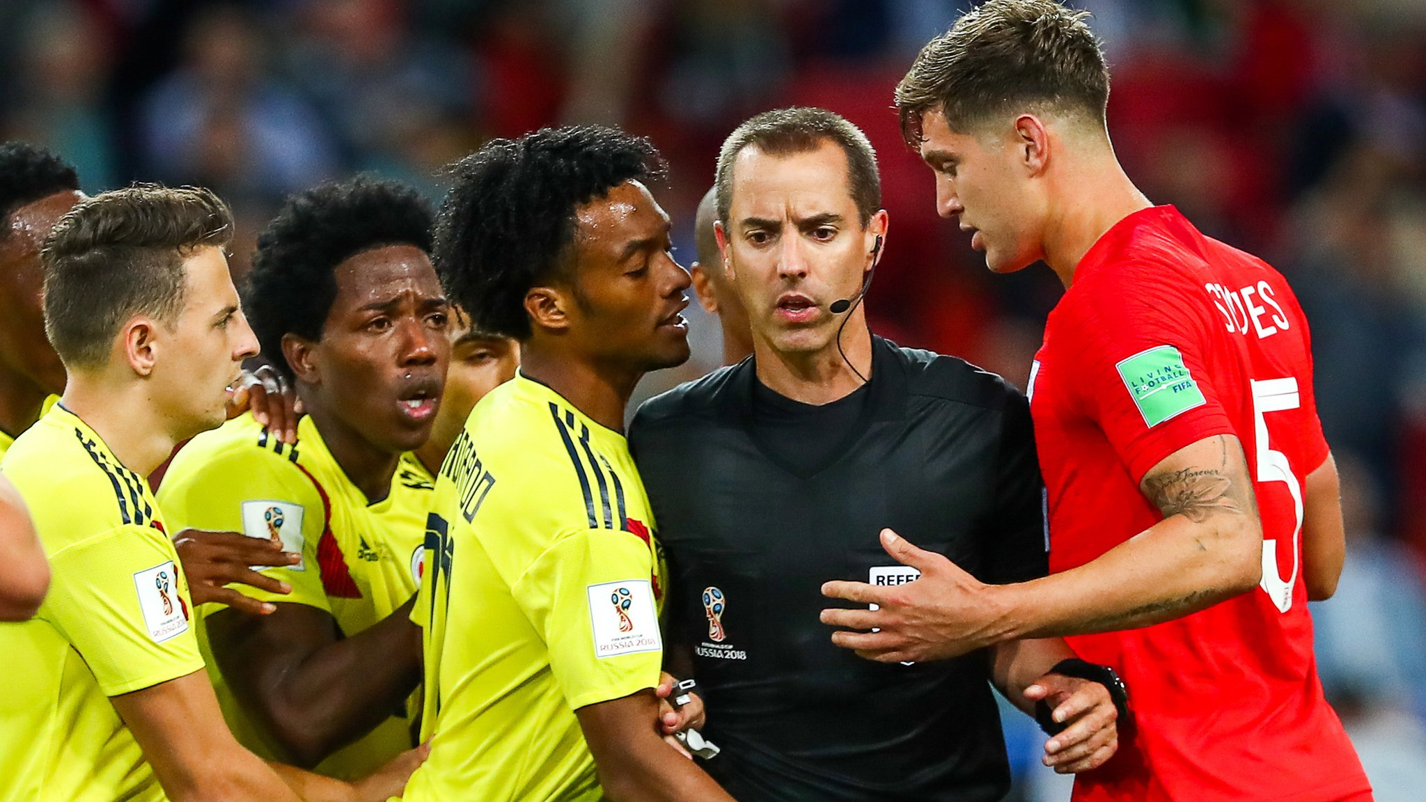 Colombia probably the dirtiest team I have faced - Stones
