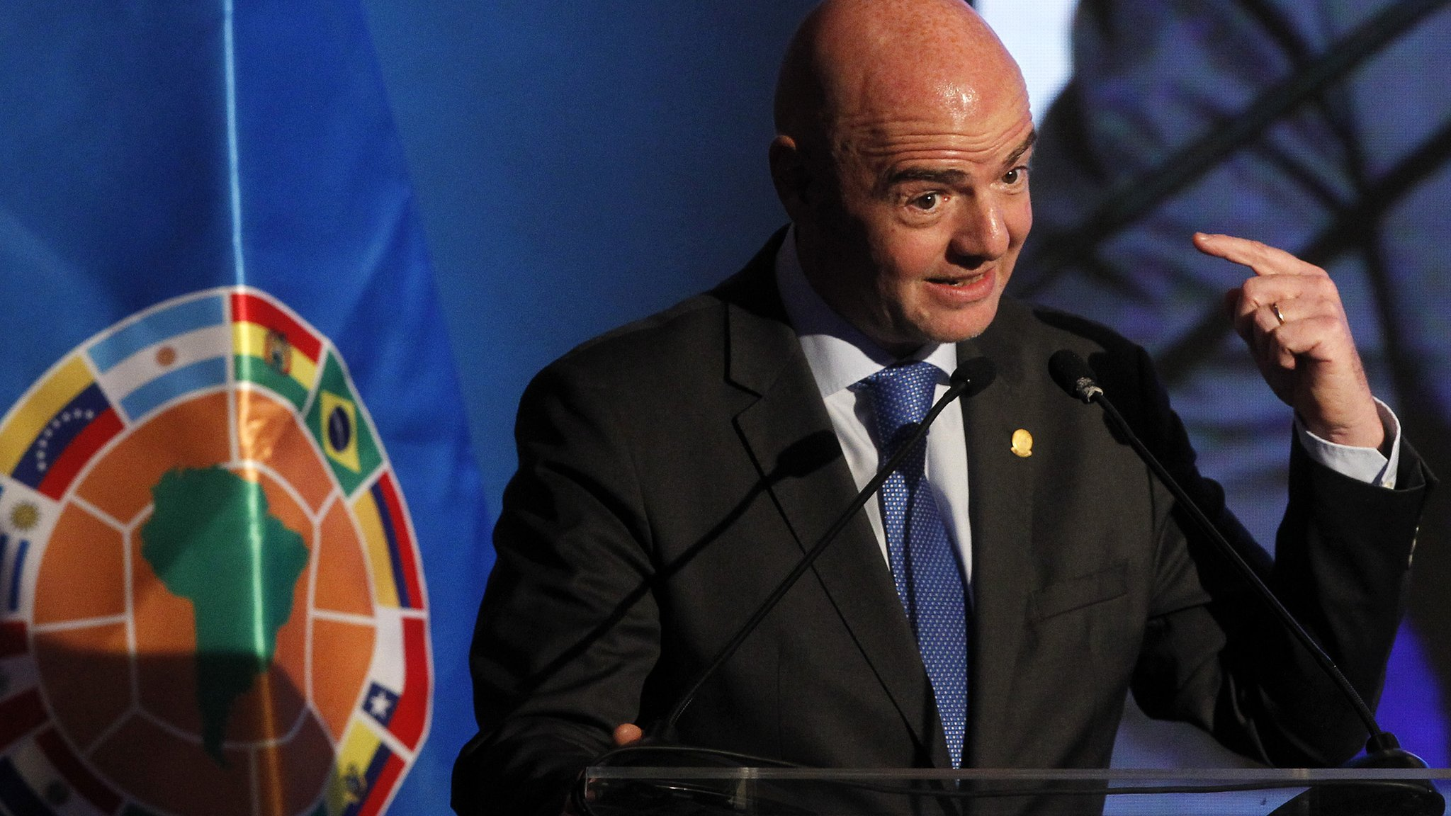 World Cup: Video referees for Russia 2018, says Fifa president Gianni Infantino