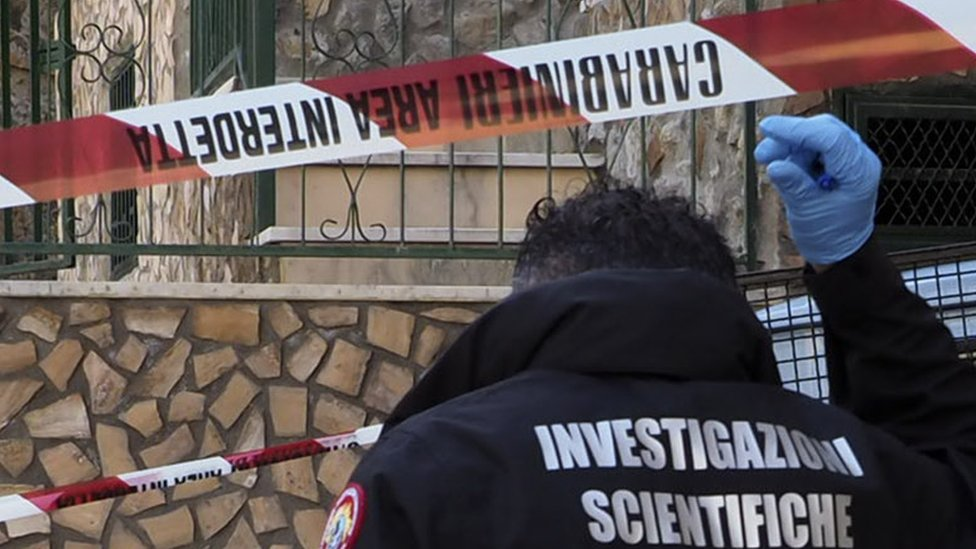 Italian teen released after killing abusive father