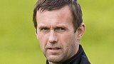 Celtic manager Ronny Deila watches his players in training