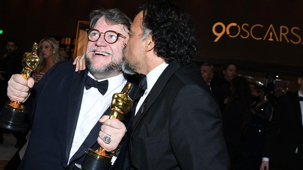 Demian Bichir desea lo mejor a Guillermo del Toro en el Oscar