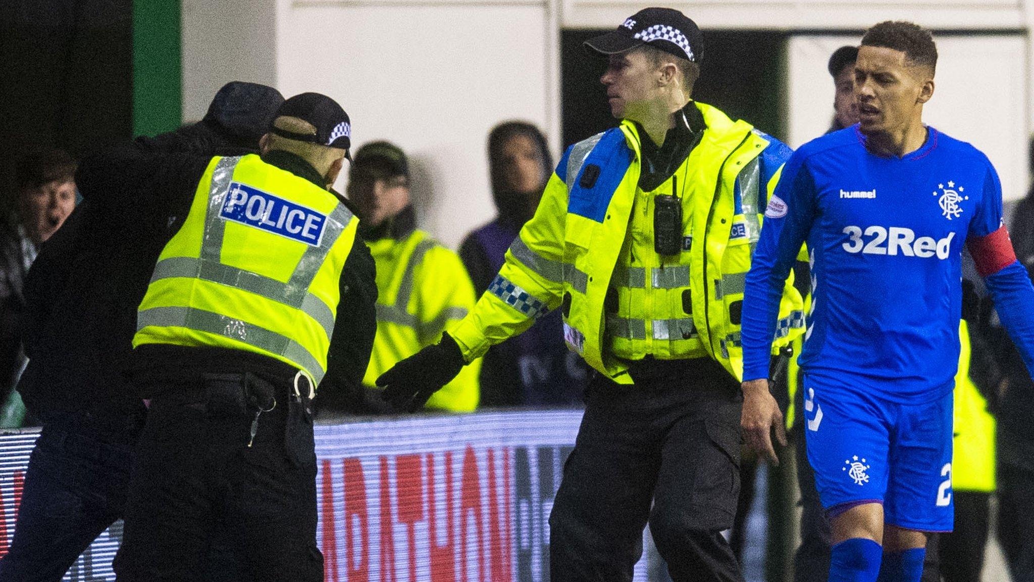 Hibernian ban two season-ticket holders following Rangers match