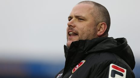 Jim Bentley: Morecambe manager looking to boost strikeforce