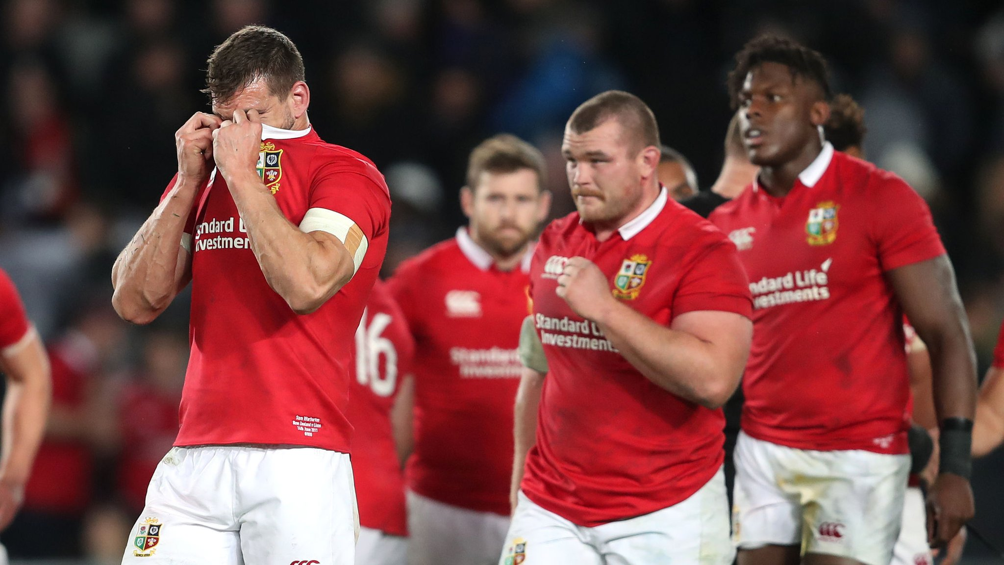 New Zealand outclass British and Irish Lions