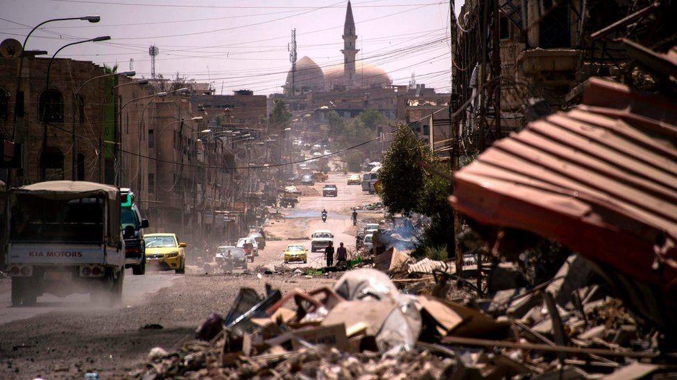 مدينة الموصل القديمة