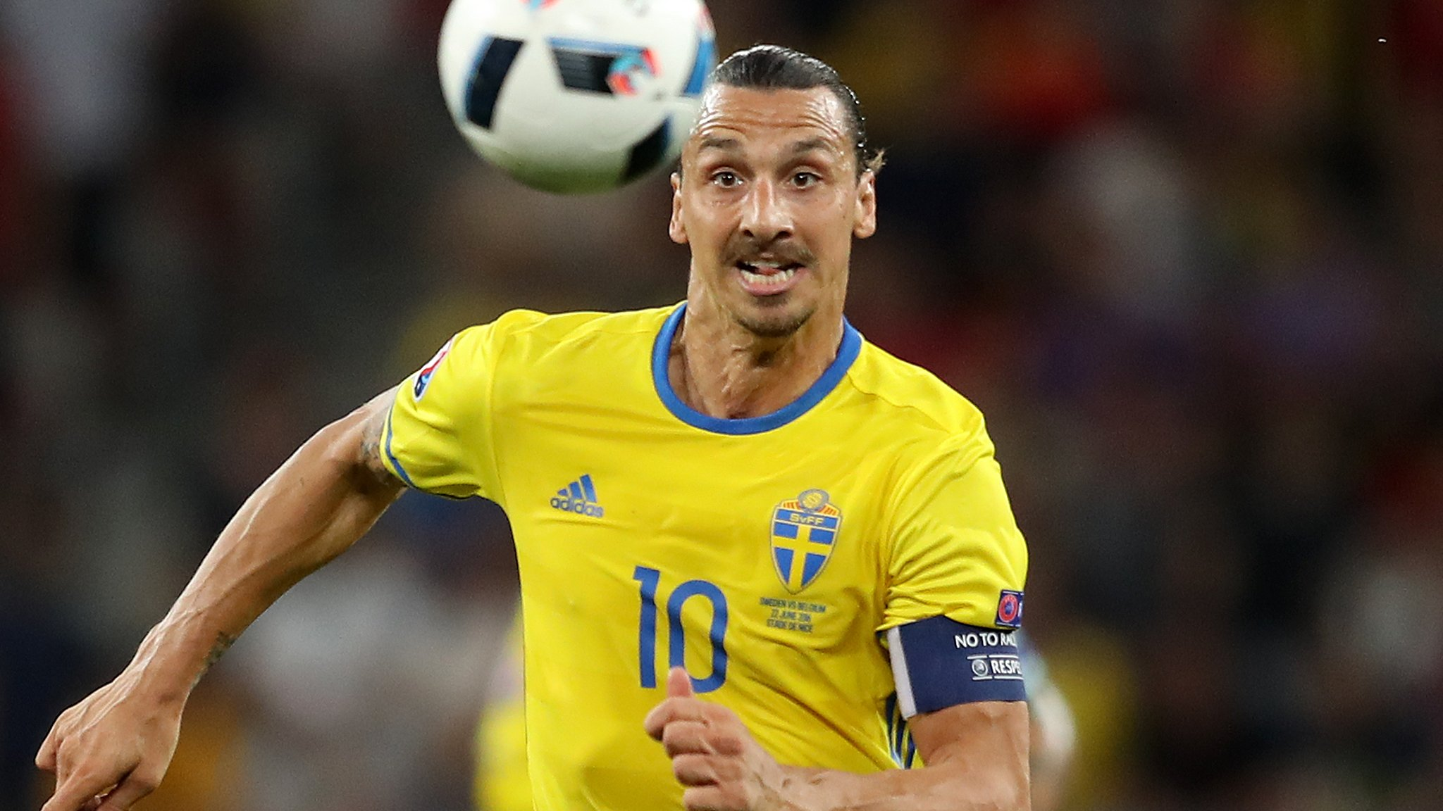 Ibrahimovic will not play for Sweden at World Cup