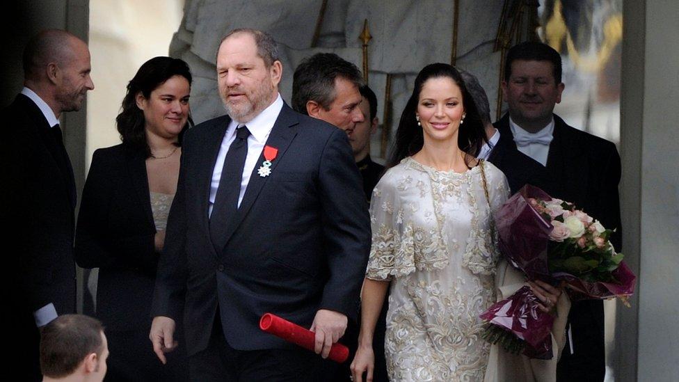 Weisntein y su esposa