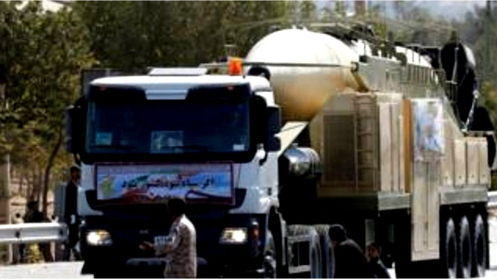 Iran thử hỏa tiễn nhằm phản đối Trump
