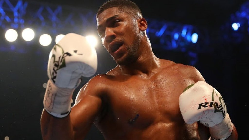 Anthony Joshua v Joseph Parker bout 'won't happen at 35%', says Eddie Hearn