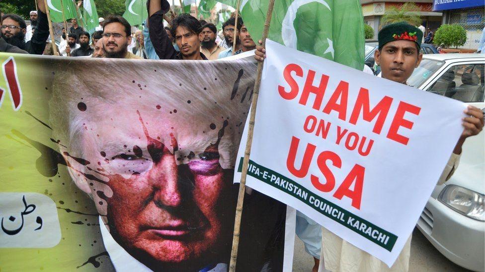 امریکا پر پاکستان ۳۰۰ میلیون ډالر مرسته وځنډوله