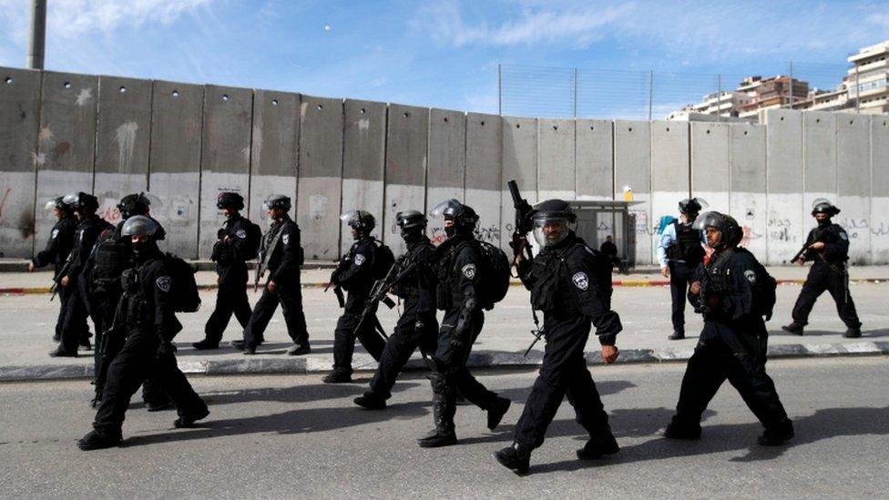 Israel afirmó que se preparaba para un potencial estallido de violencia.