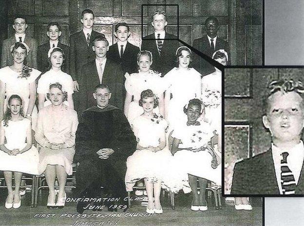 Donald Trump family photo