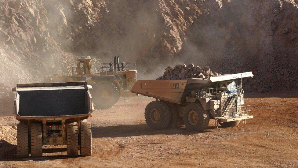Chile y Perú son los mayores exportadores de cobre del mundo.