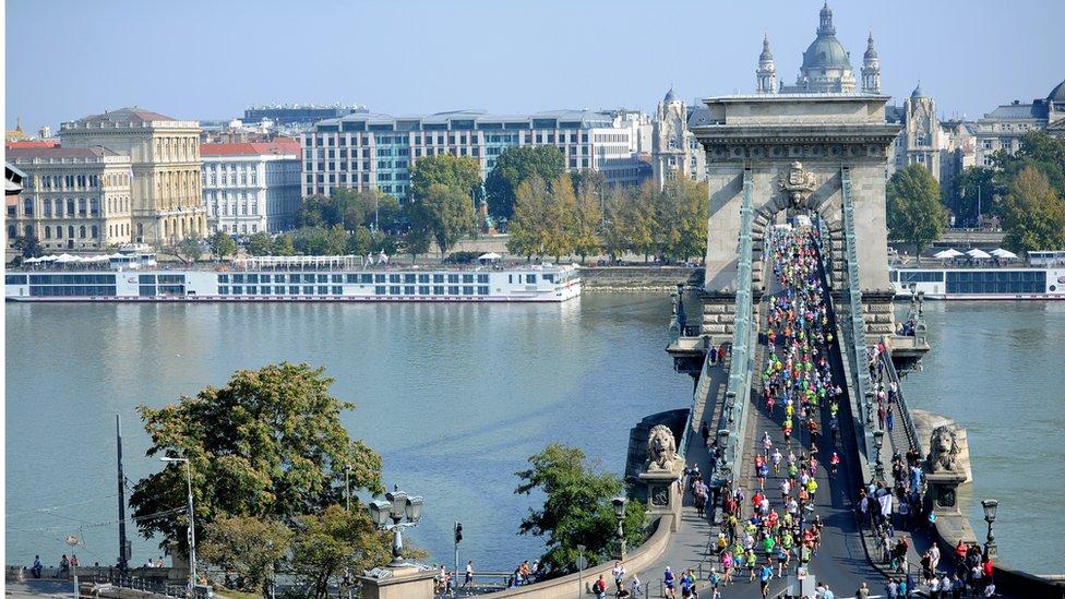 Bridge over the Danube in Budapest