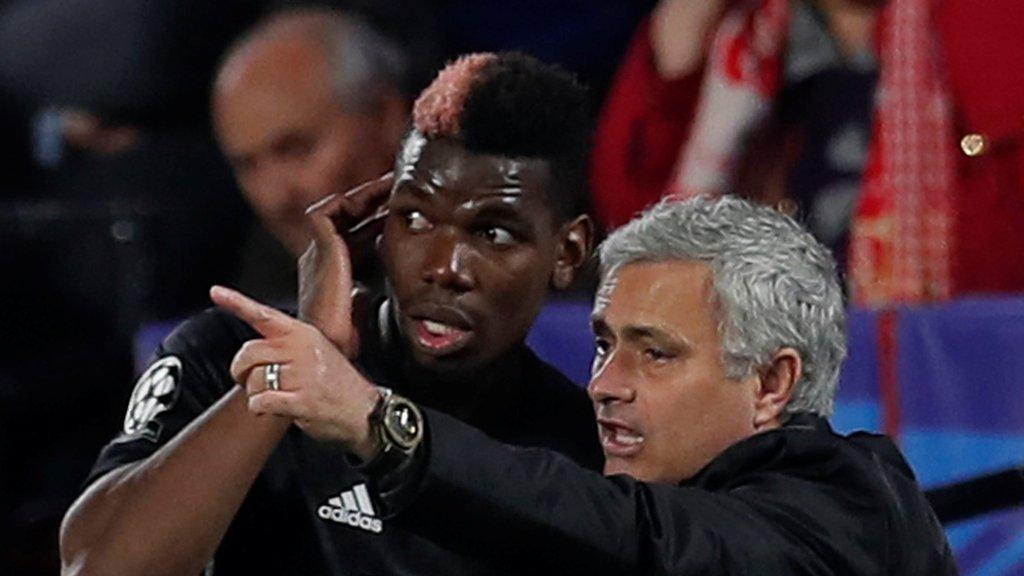 Man Utd: Paul Pogba has 'no problem' with Jose Mourinho
