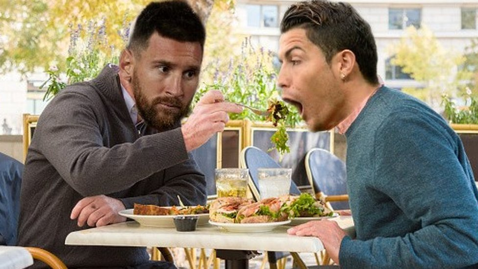 Are Messi and Ronaldo going to enjoy a meal together ...