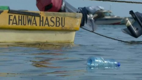 Kenya's plastic waste to a boat