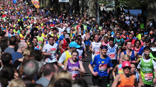 Le marathon de Londres a réuni des milliers de participants
