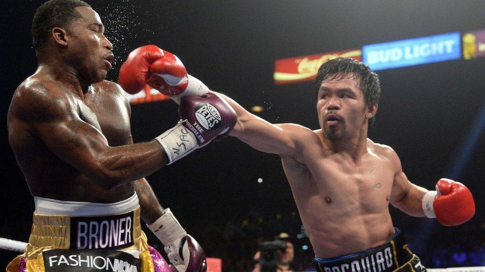 Manny Pacquiao vence a Adrien Broner y retiene su título mundial (y extiende su ...
