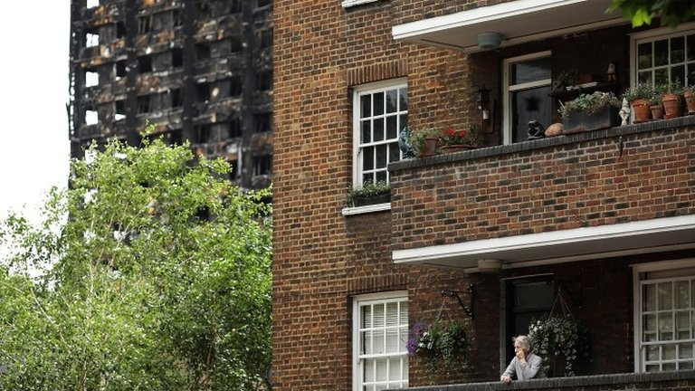 Grenfell Tower: Seven high rises 'fail fire-risk tests'