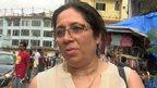 Lady in Mumbai market