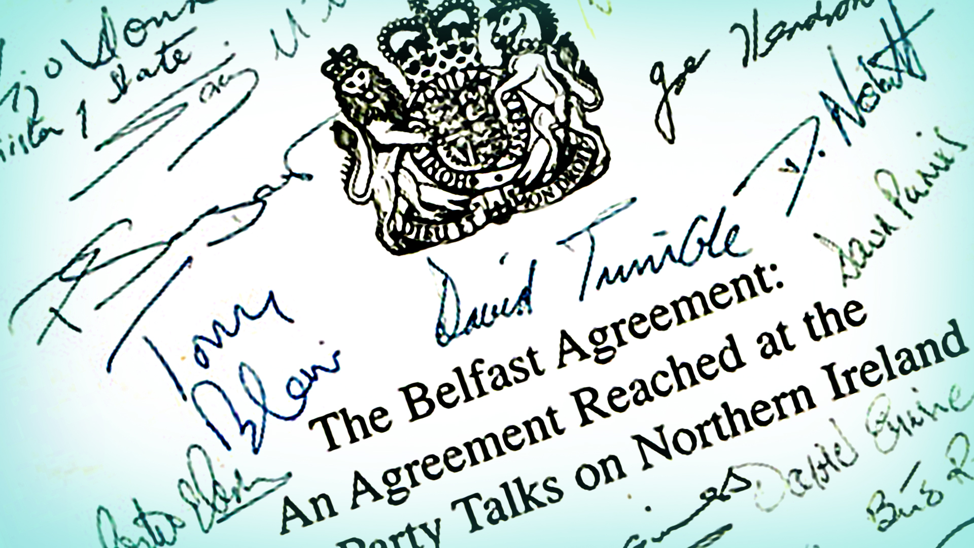 What Was The Good Friday Agreement Cbbc Newsround