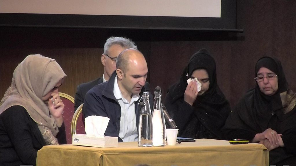 Grenfell Tower inquiry: Victim's son 'prays for death'