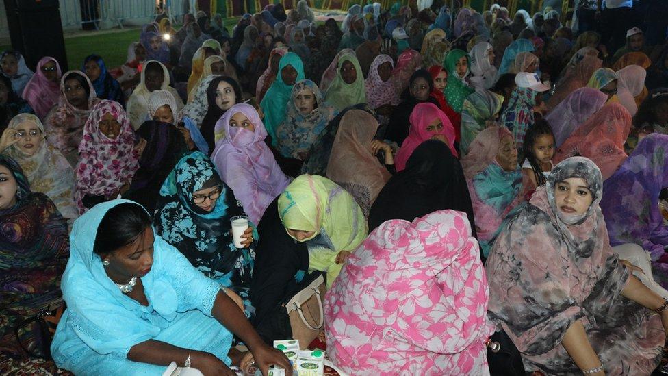 En Mauritanie, des meetings nocturnes pour les candidats