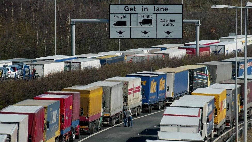 Brexit: Port of Dover warns of travel disruption risk