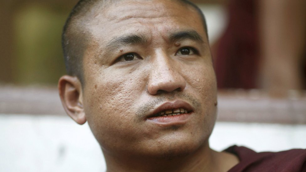 Gambira: Burmese monk freed after new charges dropped