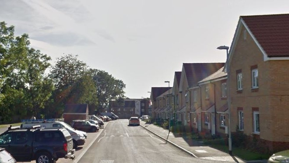 Search for man who fired gun after Basildon crash