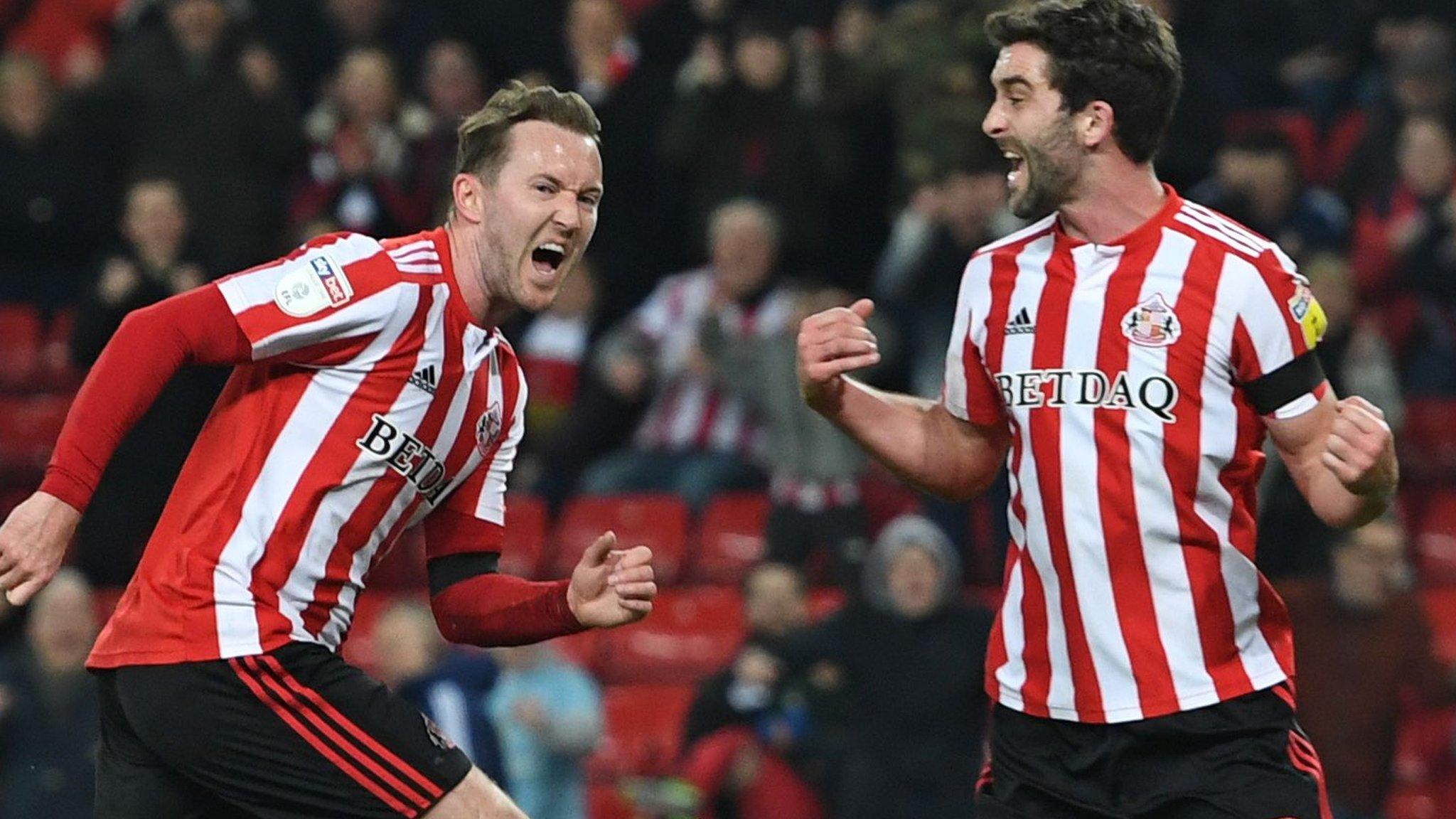 Sunderland 2-2 Accrington Stanley