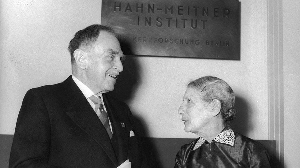 Hahn y Meitner fueron compañeros de investigación por casi 30 años y amigos íntimos, pero terminaron peleados.