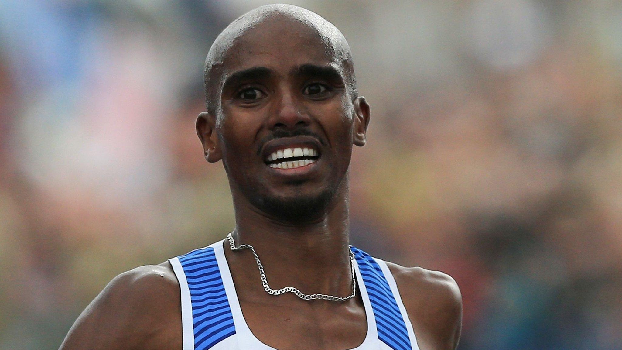 Farah & Hawkins set for London half marathon showdown