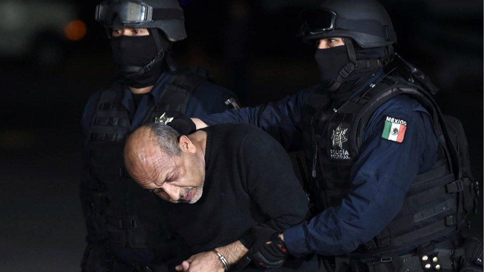"""Servando Gómez, """"La Tuta"""", el líder de los Caballeros Templarios."""