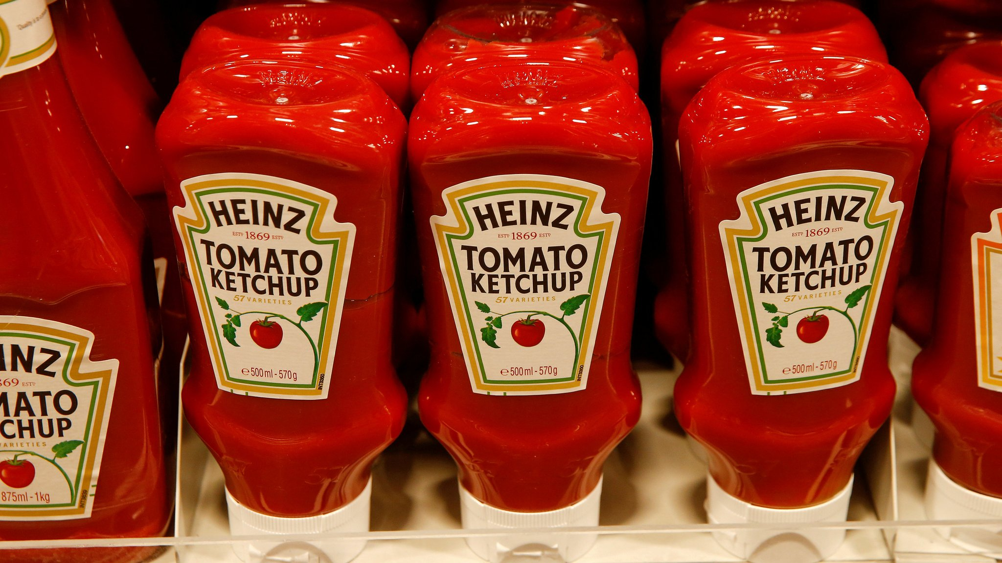 Kraft Heinz shares fall as appetites wane