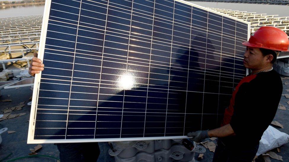 US slaps 'America First' tariffs on washing machines and solar panels