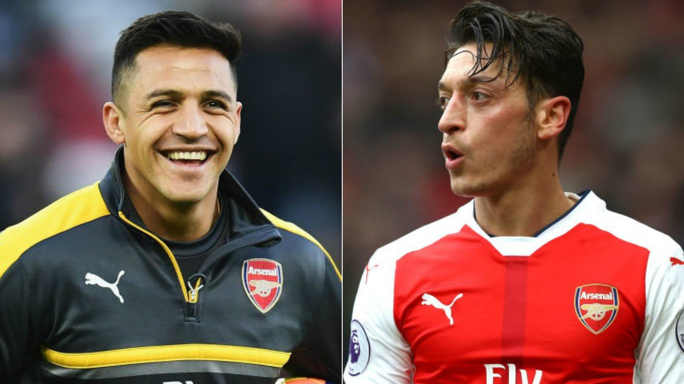 Sanchez & Ozil contract talks on hold, says Wenger