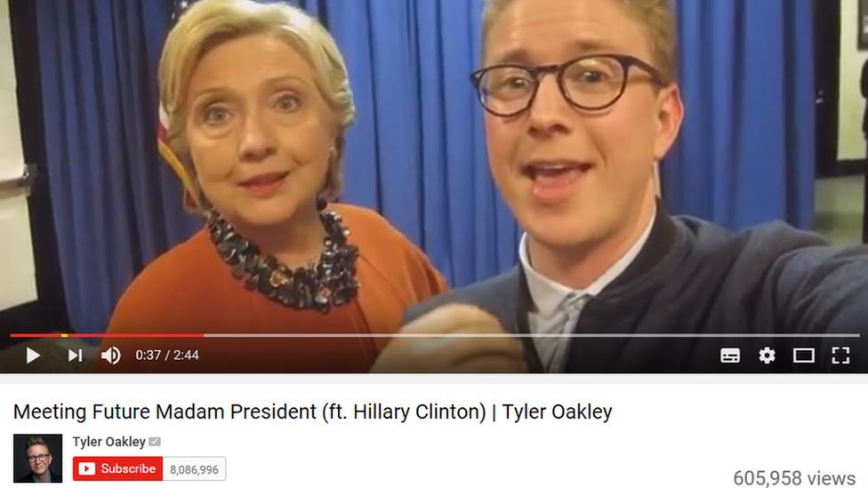 Captura de pantalla de Tyler Oakley.
