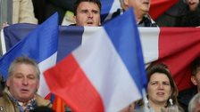 Football fans in France