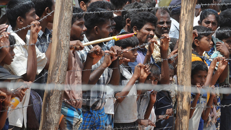 Refugiados en Sri Lanka