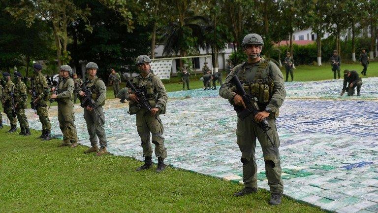 Colombia seizes 12 tonnes of cocaine